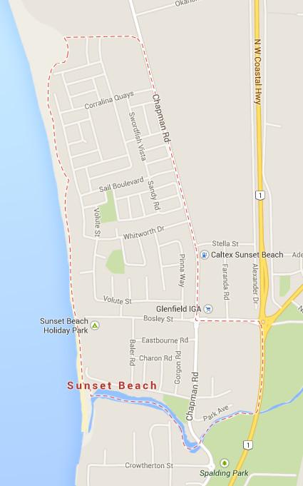 Sunset Beach Precinct. City of Greater Geraldton, Western Australia